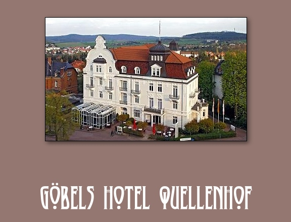 Göbels Hotel Quellenhof in Bad Wildungen